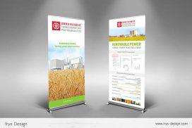 Rollup banner dizajn Slavonski Brod