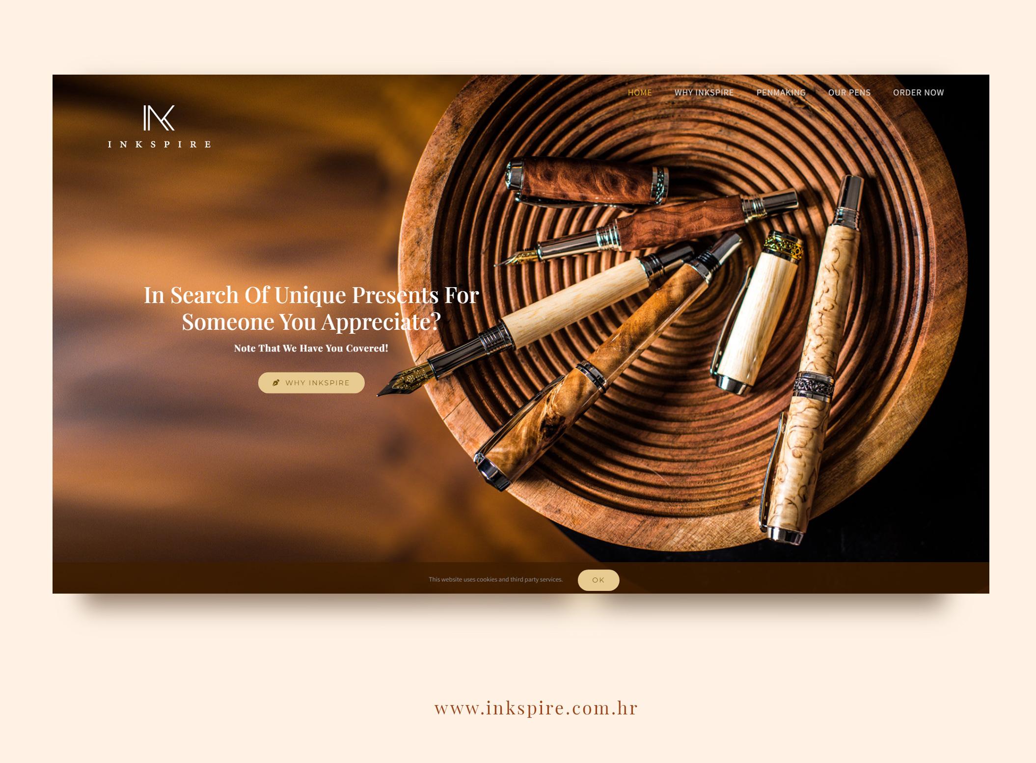 Web dizajn izrada vizualnog identiteta Slavonski Brod Inkspire