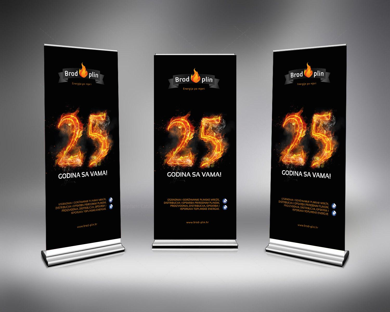 Dizajn rollup bannera Slavonski Brod