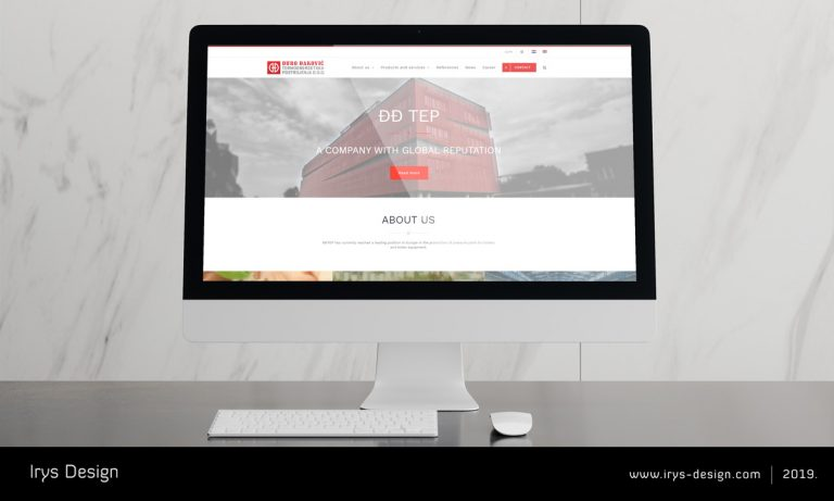 Vizualni identitet, izrada web stranice Slavonski Brod